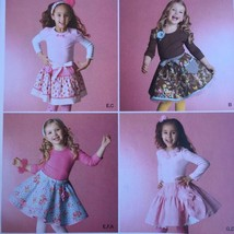 Simplicity Sewing Pattern 2356 Girls Child Skirt Slips Accessories Size ... - $16.60