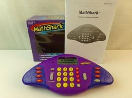 Mathshark Math Shark Purple Educational Mathematics Learning Toy EI-8490 - $18.99