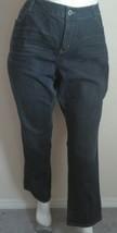 "DKNY AVENUE B Jeans  Straight Leg Women's Plus Size 24 X 33"" - $14.99"