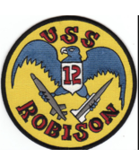"5"" NAVY USS ROBISON DDG-12 EMBROIDERED PATCH - $16.24"
