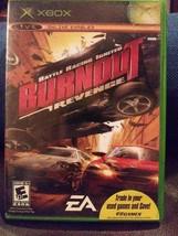 Burnout Revenge Battle Racing Ignited Microsoft Xbox game 2005 - $14.03