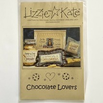 Lizzie Kate CHOCOLATE LOVERS #082 Cross Stitch Pattern Chocoholic Friends Chips - $4.95