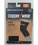 NEW Copper Wear Supportive Athletic Compression Sleeve, Knee, Sz: SMALL,... - $10.89