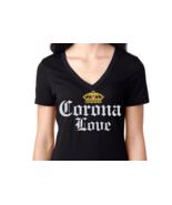 corona love corona t shirt, women's sparkle glitter graphic apparel top ... - $19.79+
