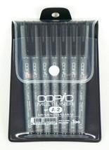 Too Copic Pen Multi liner black A-2 set0.03 /0.05 /0.1 /0.3 /0.5 /0.8 /1... - $38.18