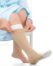 UlcerCARE Therapeutic Stockings without Zipper-LG-Beige - $77.12
