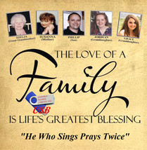 THE LOVE OF A FAMILY by Susanna, Shelia, Phillip, Jordean & Grace - USB Plug-In