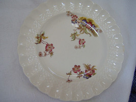 Wicker Lane Rimmed Soup Bowl Spode Copeland England 7 5/8 inches - $25.25