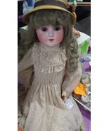 "Antique Bisque 27"" Shoenau Hoffmeister Doll - $375.00"