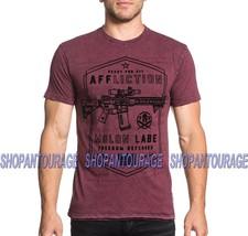 AFFLICTION Molon Labe A18467 New Men`s GI Foundation Reversible T-shirt - $49.30