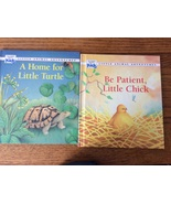 2 Little Animal Adventures Readers Digest Kids Be Patient Chick Home for... - $9.95