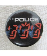 1980s Rock and Roll Pin Back Button The Police Ghost in the Machine 1 1/... - $9.90