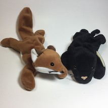TY Beanie Baby - Velvet and Sly Stuffed Animals Plush Toy 2 For $10 - $9.90