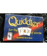 Quiddler Card Game-For the Fun of Words--Sealed - $12.00