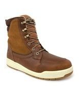 "Timberland Men's 6"" Raystown Medium Brown Leather Waterproof Snow Boots ... - $129.99"