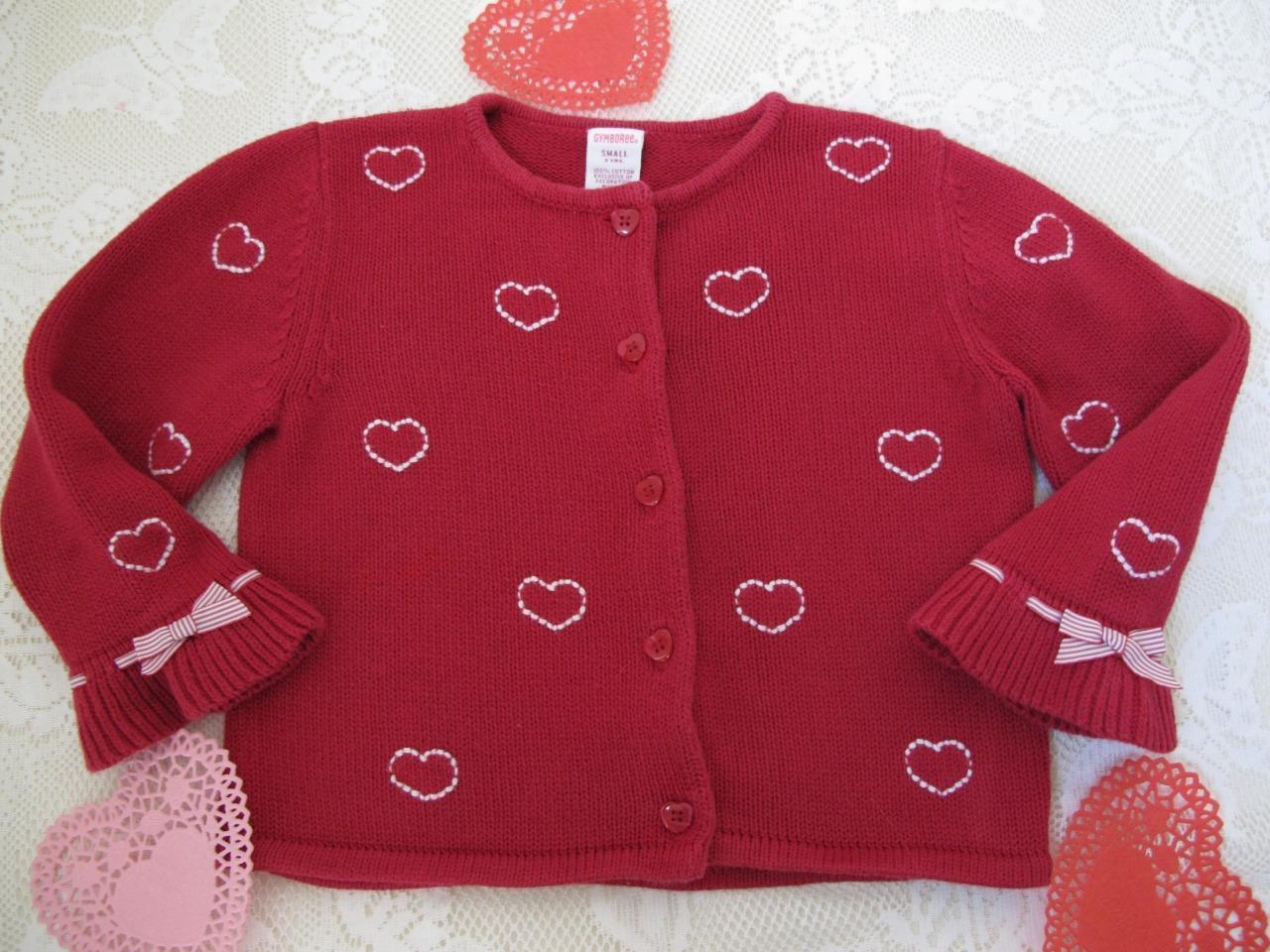 3febddf69b1 Gymboree Valentine Cardigan Sweater S 3 and 50 similar items. S l1600