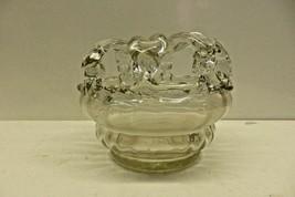 Collectible Vintage Wedding Bridal Glass Coin Still Bank Piggy Bank  - $119.99