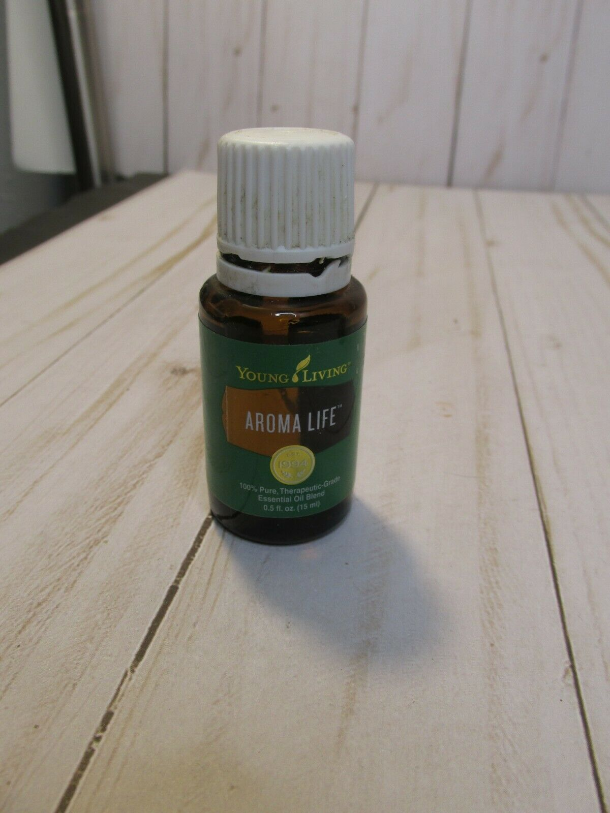 Primary image for E3 Young Living Essential Oil Aroma Life 15ml Opened Approx 75% full