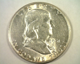 1951-S S/S RPM #2 SOUTH CONE E-02 FRANKLIN HALF DOLLAR ABOUT UNCIRCULATE... - $25.00