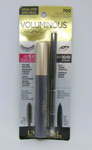 L'OREAL VOLUMINOUS Original Mascara + Liner No.700 Black 0.28oz./8ml - $9.85