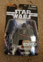 Star Wars Episode III Heroes & Villains Collection Darth Vader 1 of 12 SEALED - $5.94