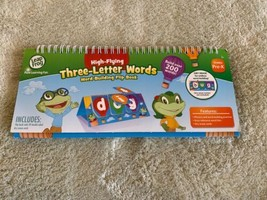 Leap Frog High-flying Three-letter Words Dry Erase Flip Book NEW WORK BU... - $6.43