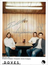 DOVES AUTOGRAPHS *THE LAST BROADCAST, SOME CITIES* HAND SIGNED 10X8 PHOTO - $45.98