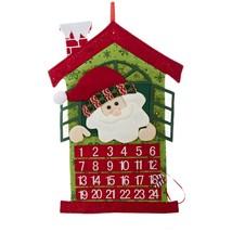 "Kurt Adler 24"" Red and Green Santa Advent Calender Christmas Decor - €23,53 EUR"