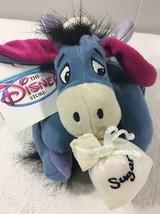 DIsney Store Sugar Plum Fairy Eeyore Mini Bean Bag Plush Christmas Nutcr... - $8.90