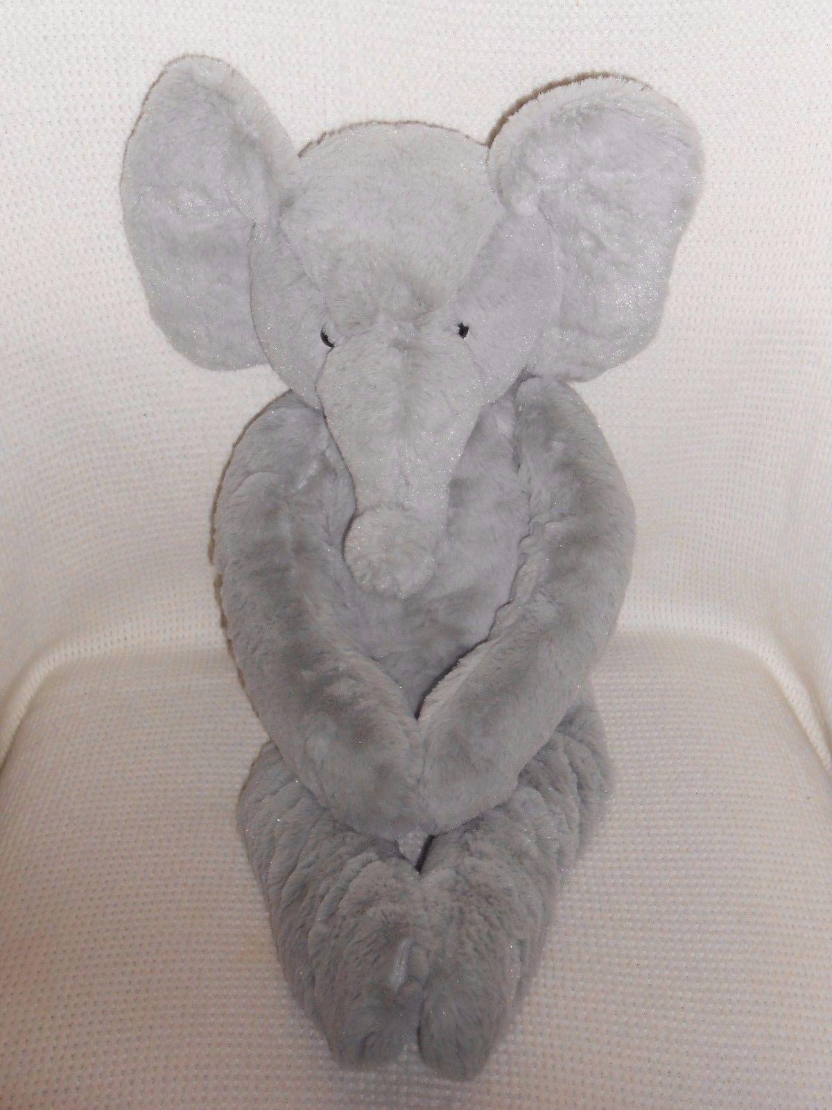 "NWT BABY STARTERS BOY/'S BLUE ELEPHANTs REVERSIBLE BABY BLANKET 30/"" X 40/"""