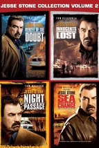 Jesse Stone DVD Set Benefit of the Doubt Innocents Lost Night Passage Se... - $32.66