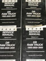 2005 Dodge Ram Truck 1500 2500 3500 Service Shop Repair Manual Set Diesel Oem - $346.45