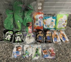 MCDONALDS HAPPY MEAL & BURGER KING KIDS CLUB TOY STORY LOT OF 17 ASSORTE... - $125.00