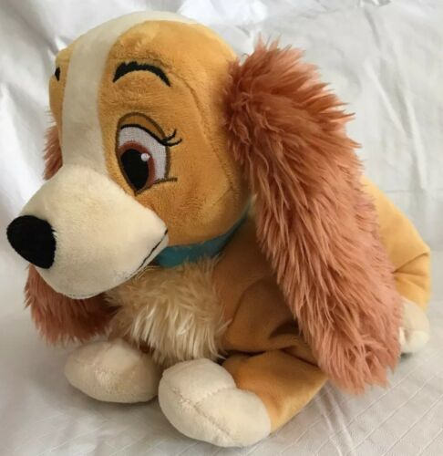 "Primary image for Disney Store Lady and the Tramp Dog 14"" Plush Cocker Spaniel Movie Character"