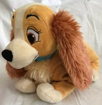 "Disney Store Lady and the Tramp Dog 14"" Plush Cocker Spaniel Movie Chara... - $15.83"