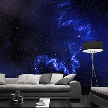3D Blauen Himmel sterne 2  Fototapeten Wandbild Fototapete BildTapete Familie DE - $52.21+