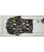 Tommy Bahama 100% Silk Men Shirt Button Down BANANAS Size MEDIUM Tropica... - $45.00