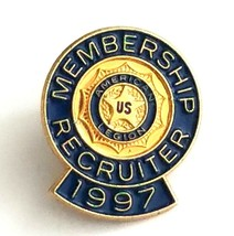 VTG Collectible Lapel Pin - 1997 US American Legion Membership Recruiter... - $9.65
