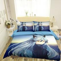 3D Spirit Matchmaker I517 Japan Anime Bed Pillowcases Duvet Cover Quilt Ang - $73.93+