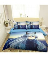 3D Spirit Matchmaker I517 Japan Anime Bed Pillowcases Duvet Cover Quilt Ang - $73.93+