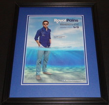 Royal Pains 2012 Framed ORIGINAL 11x14 Advertisement Mark Feuerstein - $32.36