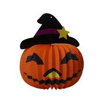(as show)Halloween Light Pendant Paper Props Supply Bar Lantern Ornament... - $14.00