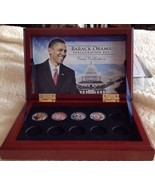 Barack Obama Inauguration Day 1/20/2009 Coin Collection, Limited Treasur... - $34.65