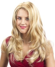 Linda U Choose Color Long Wig Luscious Layers Full Skin Top Wigs US Seller - $44.95