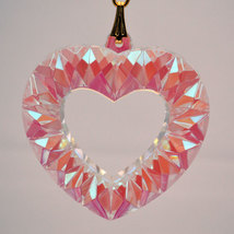 Crystal Open Heart Prism image 1