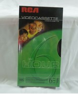 VHS Tape RCA T-120 HI-FI, VHS 6 Hour Video Cassette Tape NEW Blank - $11.87