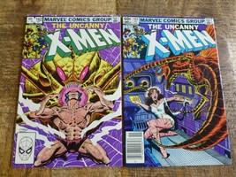 The Uncanny X-Men #162 163 (1982, Marvel) HIGH GRADE VF 8.0 - $11.22