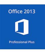 Microsoft Office 2013 Professional Plus 32/64 Bit Key With Download - $236,88 MXN
