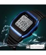 SKMEI Fashion Men Watches Sports Digital Watch Waterproof Alarm Man Wris... - $14.20