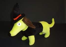 "Halloween Witch Dachshund Dog Toy with Squeaker 15"" Long - $15.50"